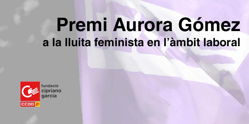 Premi Aurora Gómez a la lluita feminista en l'àmbit laboral 2019, 10a edició