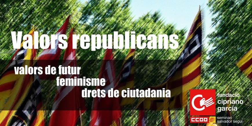 Document 'Valors republicans: valors de futur, feminisme, drets de ciutadania'