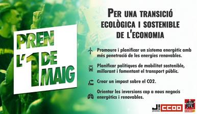Cartell d'Acció Jove per una transició ecològica i sostenible de l'economia
