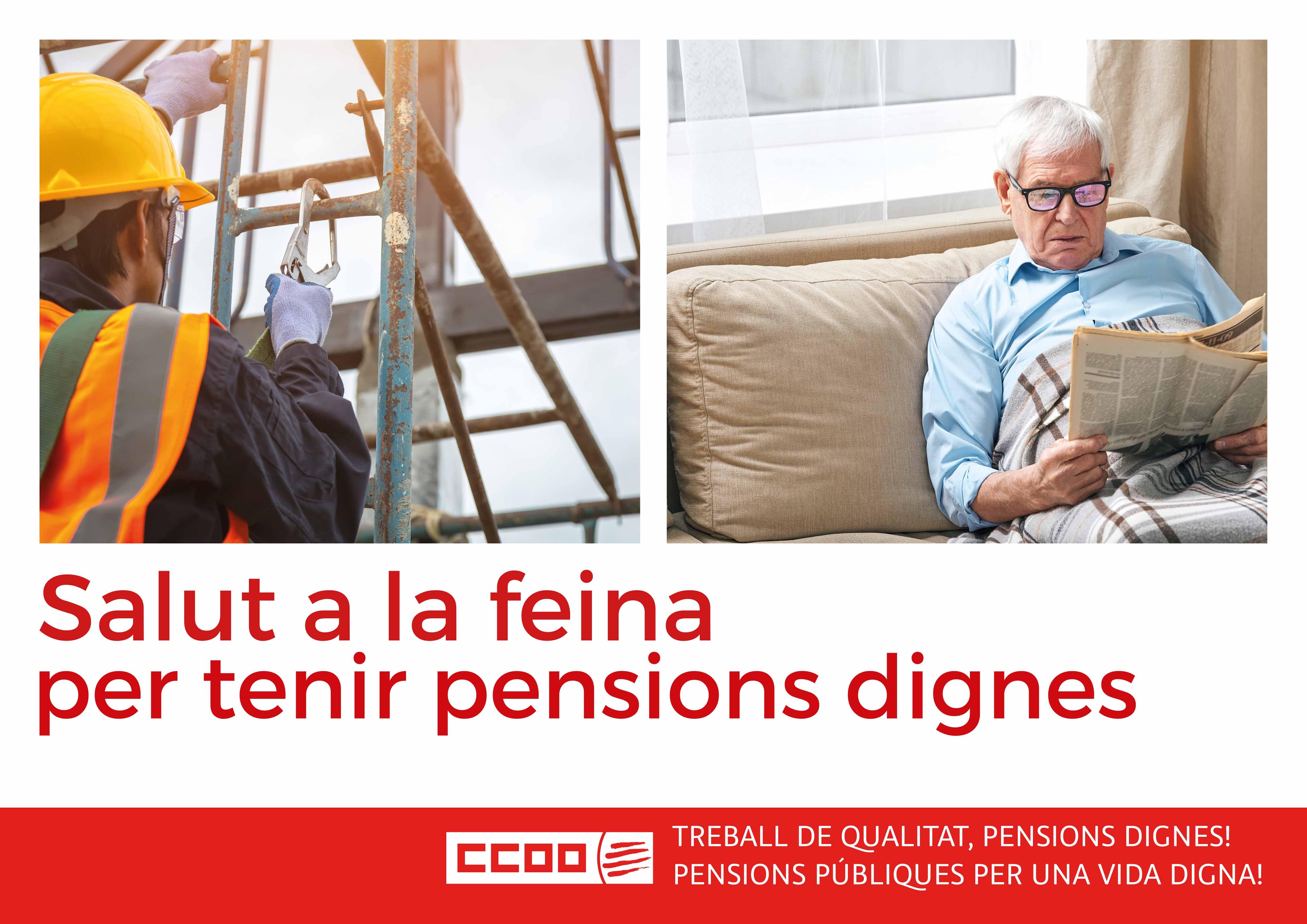 Salut a la feina per tenir pensions dignes