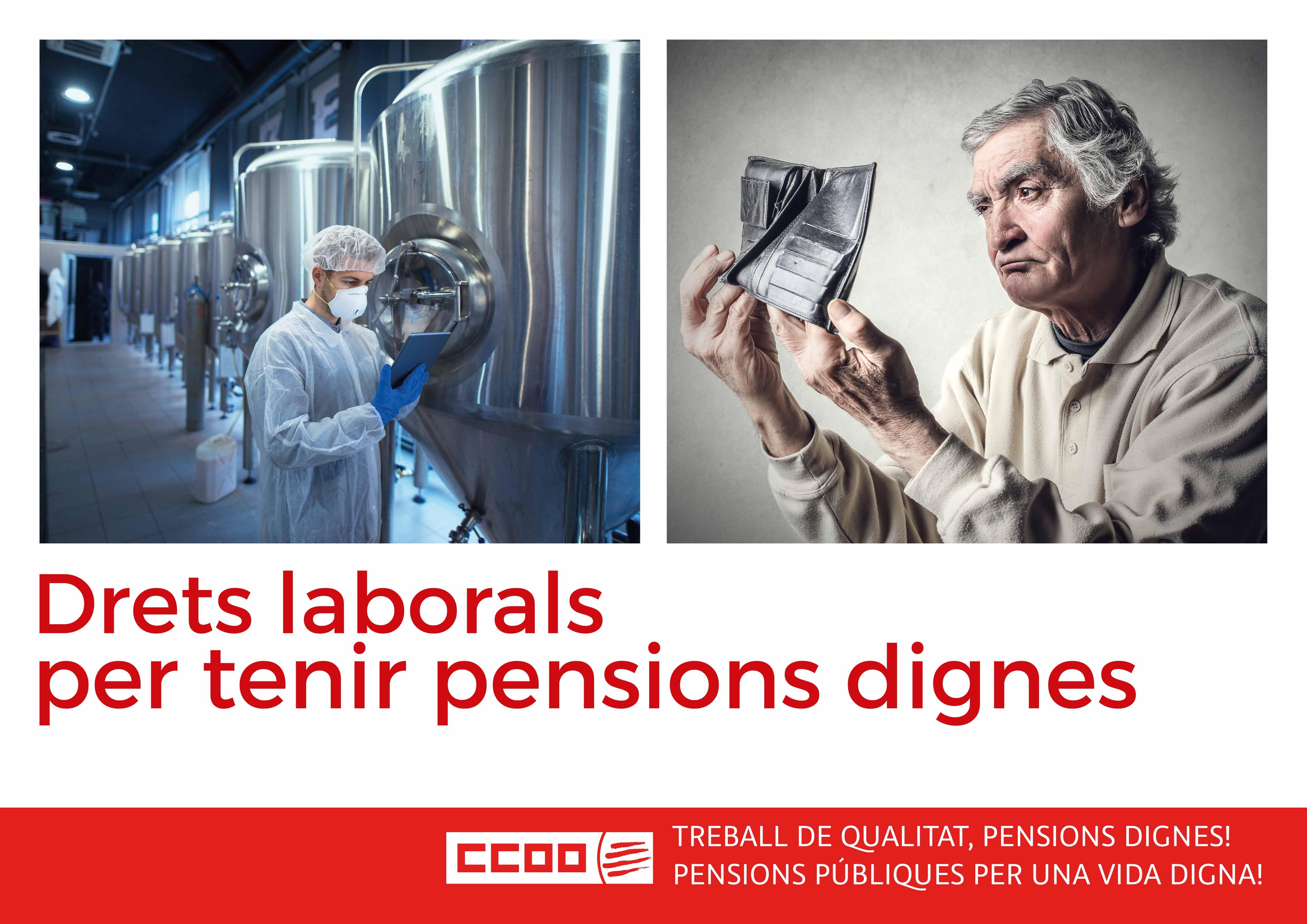 Drets laborals per tenir pensions dignes