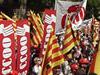 Manifestaciço de CCOO de Catalunya