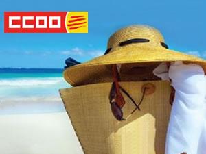 Descomptes en trurisme de CCOO de Catalunya
