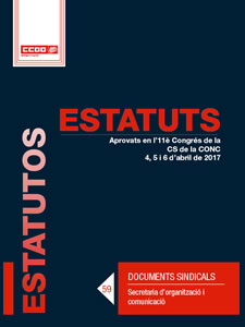 Estatuts de CCOO de Catalunya