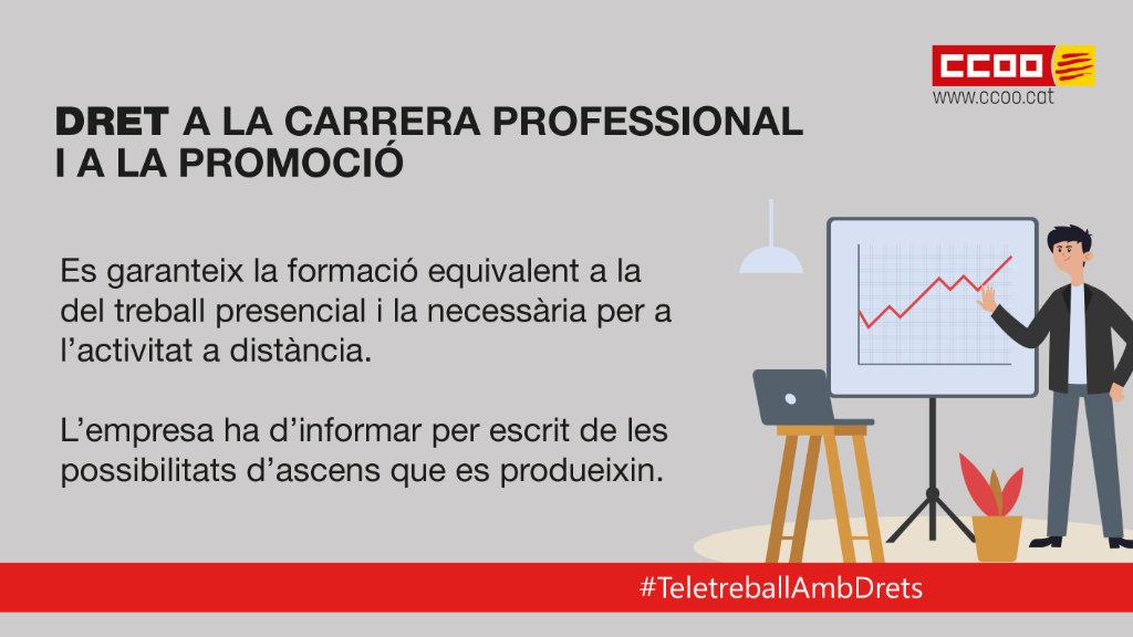 Dret a la carrera professional i a la promoció