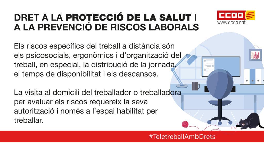Dret a la protecció de la salut i a la prevenció de riscos laborals