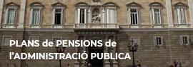 Plans de pensions de l'Administració Pública