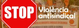 Stop violència antisindical