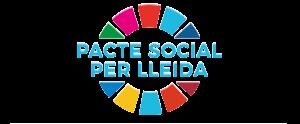 Logotip del Pacte Social per Lleida