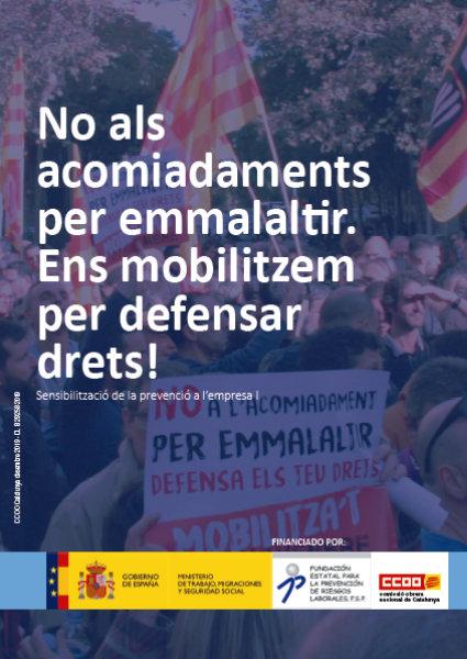 Cartell de CCOO de Catalunya per a les eleccions sindicals