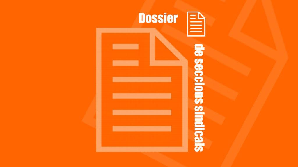 Dossier de Seccions Sindicals dels Papers Sindicals