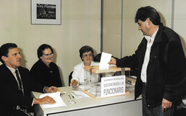 Eleccions sindicals a l'Ajuntament de Badalona
