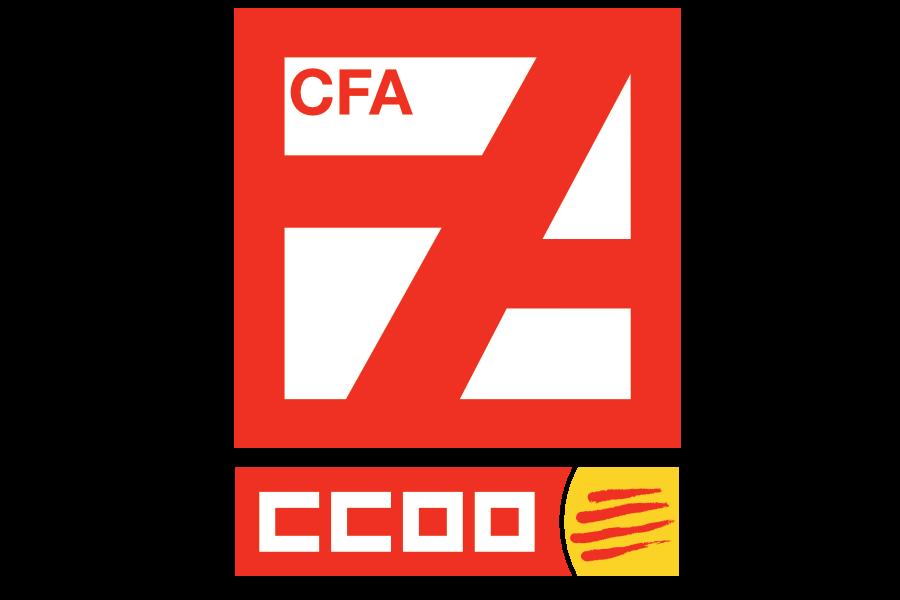 Glifo del Centre de Formació per a Persones Adultes Manuel Sacristán de CCOO de Catalunya