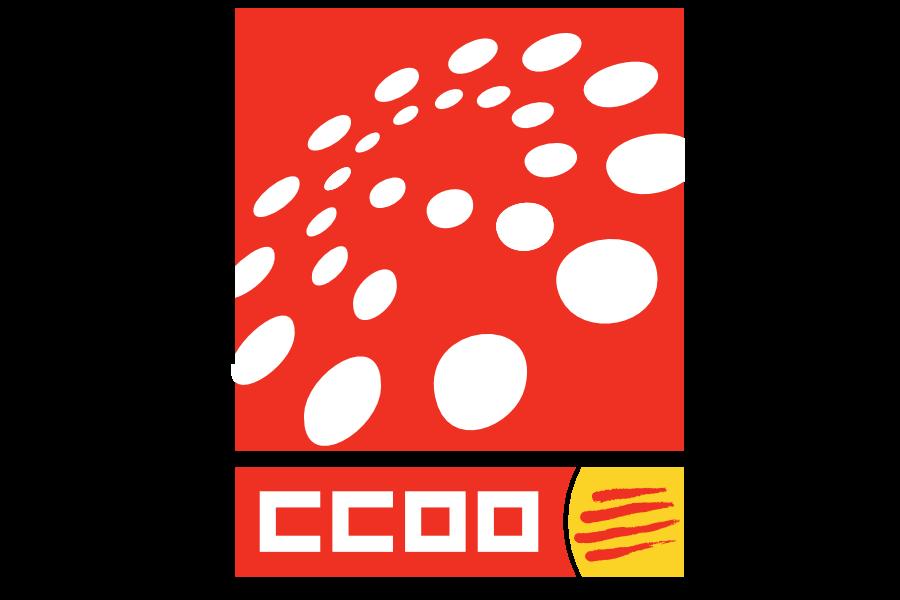Glifo de l'Escola de Formació Sindical de CCOO de Catalunya
