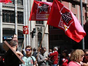 banderes accio jove joves ccoo