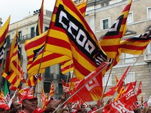 banderes ccoo aturada pais