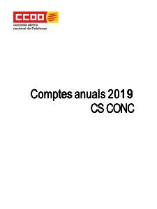 comptes anuals 2019