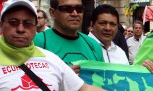 immigrants ecuador manifestacio