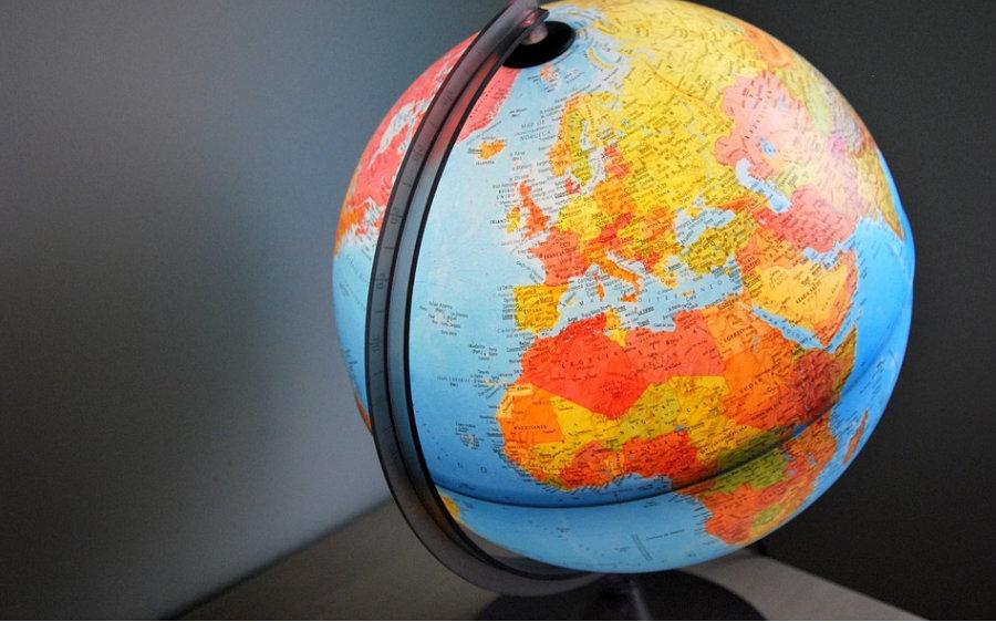 Mapa del món.