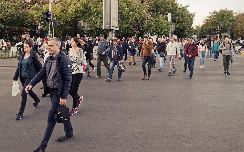 Persones al carrer