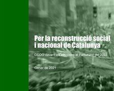 propostes ccoo eleccions parlament 2021