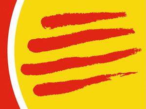 quatre barrers logo ccoo catalunya