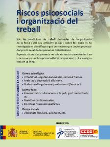 riscos psicosocials organitzacio treball