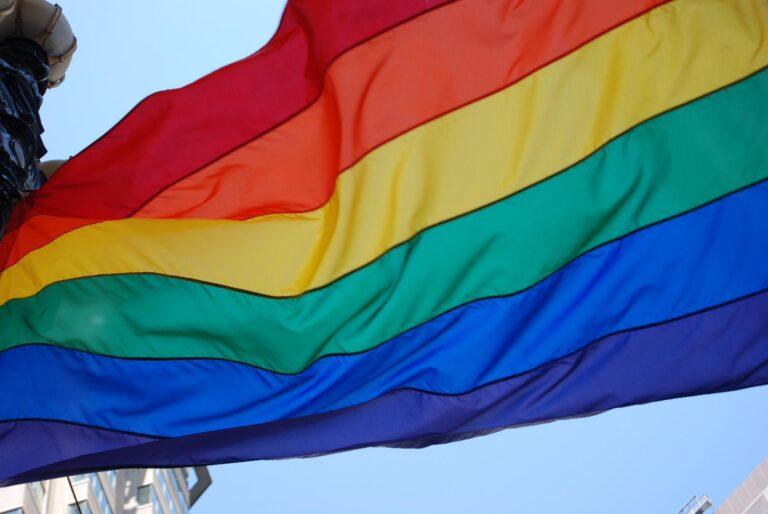 Bandera Lgtbi Contra Agressions Homofobes