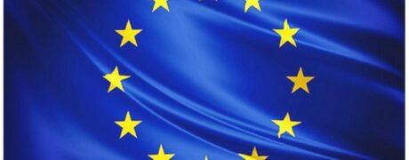Bandera de la Unió Europea. Dia d'Europa. 9 de Maig