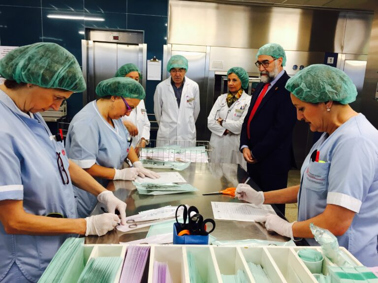 Esterilizacions Hospitals Publics