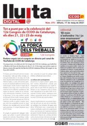 Lluita digital 370. Tot a punt per a la celebració del 12è congrés de CCOO de Catalunya, els dies 21, 22 i 23 de maig