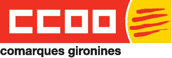 Logo de CCOO de les Comarques Gironines
