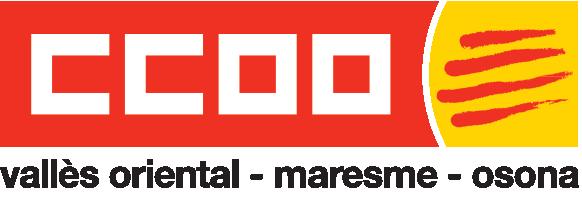 Logotip de CCOO del Vallès Oriental, el Maresme i Osona