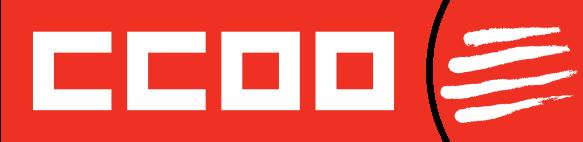 Logo de CCOO de Catalunya en vermell
