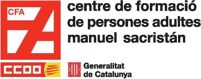 Logo del Centre de Formació per a Persones Adultes Manuel Sacristán