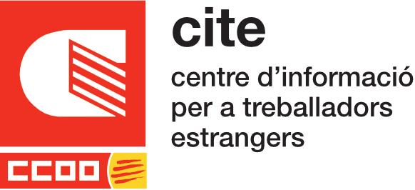 Logo del CITE de CCOO de Catalunya