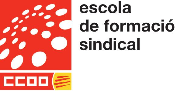 Logo de l'Escola de Formació Sindical de CCOO de Catalunya