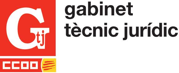 Logo del Gabinet Tècnic Jurídic de CCOO de Catalunya