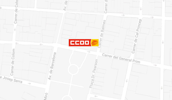 Mapa de localització de l'Oficina del CITE a Rubí