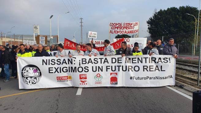 Mobilitzacio Nissan Barcelona