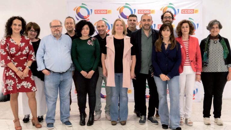 Nova direcció de CCOO de Catalunya després del 12è Congres
