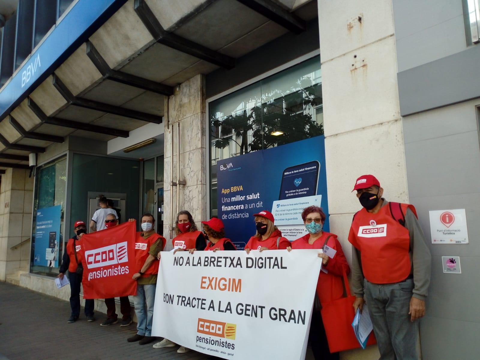 Pensionistes Jubilats Baix Llobregat Bretxa Bancaria