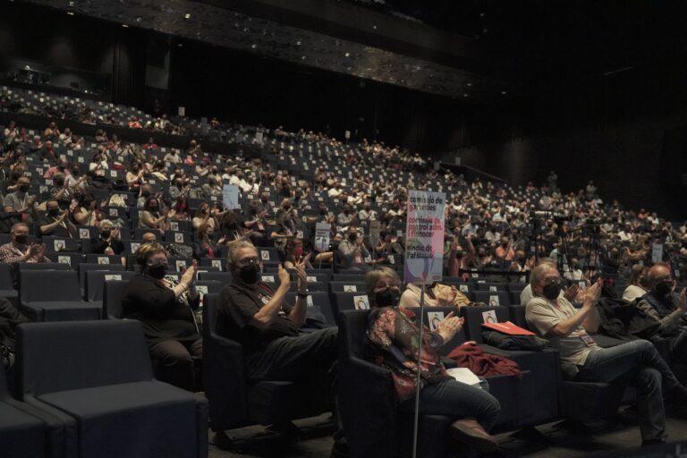 Plenari del 12è Congrés de CCOO de Catalunya