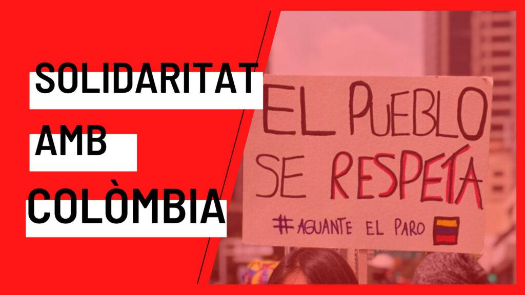 Solidaritat amb Colòmbia