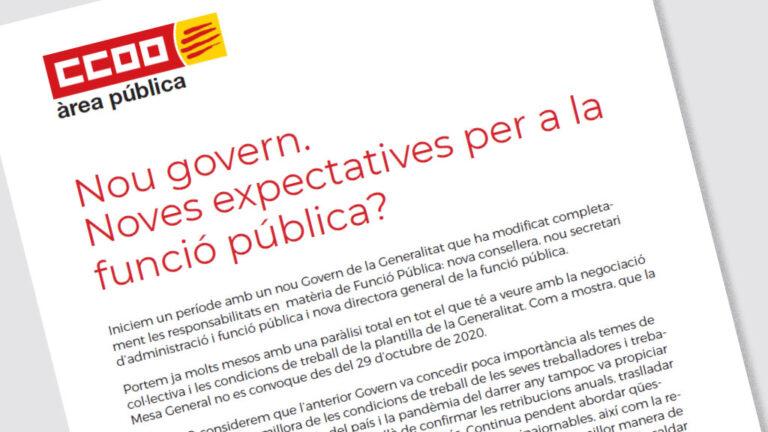 Full Informatiu Noves Expectatives Funcio Publica