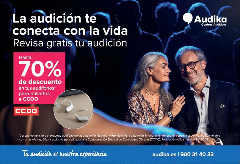 Imatge Promocio Audika Para Ccoo