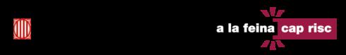 Logotip del Departament d'Empresa i Treball. A la feina cap risc
