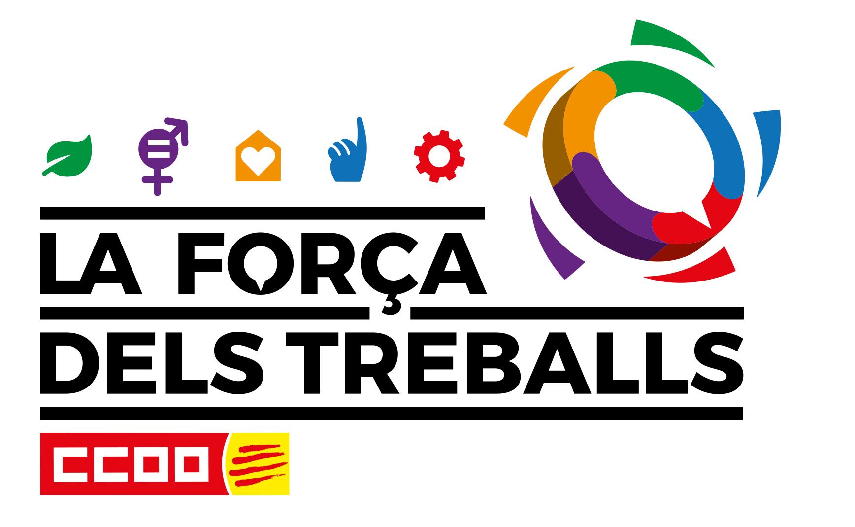 Logotip 12e Congres Ccoo Catalunya