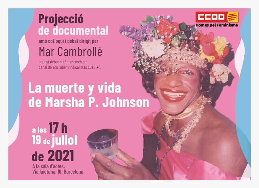 Projecció del documental 'La muerte Marsha P. Johnson'