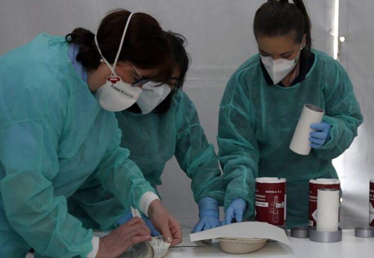 Infermeres Proteccio Coronavirus Salut Laboral Sanitat